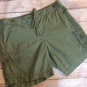 Green J.Crew 2 Small Sm S Shorts